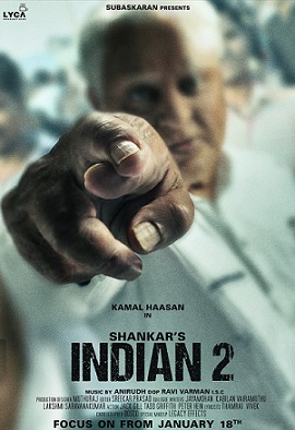 Indian 2 First Look Revealed Kamal Haasan Shankar