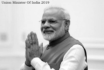 Union Minister Of India 2019 list
