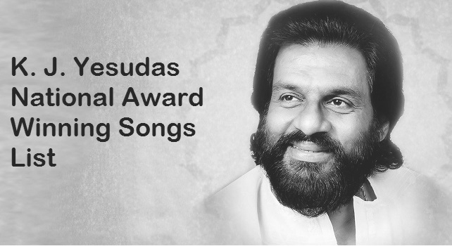 K. J. Yesudas National Award Winning Songs List