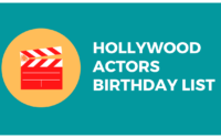 hollywood actors birthday today